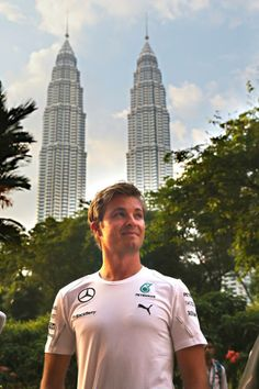 Nico Rosberg  @ the 2014 Malaysian F1 Grand Prix