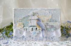 Ванильные мечты: Открытки цветочных фей. Открытки с незабудками