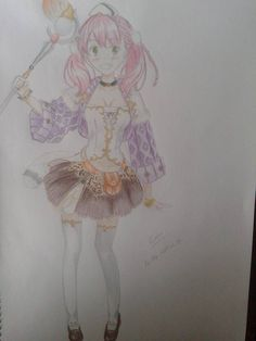 Colourfull test from Escha :D its a beauty character.