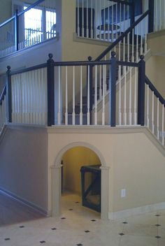 11 Stunning and Cute Dog House Under Stairs - Page 9 of 11 Animal Room, Animal House, Dog Spaces, Dog Rooms, Under Stairs, Dog Houses, House Goals, Design Case, My New Room