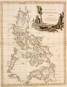 Old map of the Philippines during Spanish rule in 1785 Old World Maps, Old Maps, Vintage Maps, Antique Maps, Vintage Bikes, Philippine Map, Philippines Culture, World Geography, Fantasy Map