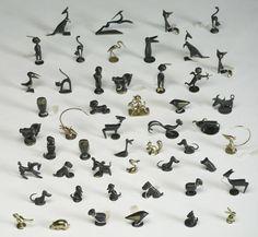 238: Karl Hagenauer Bronze figures, Austria, 50 pcs : Lot 238