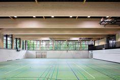 Sports Hall at Schuldorf Bergstrasse / Loewer + Partner Architekten