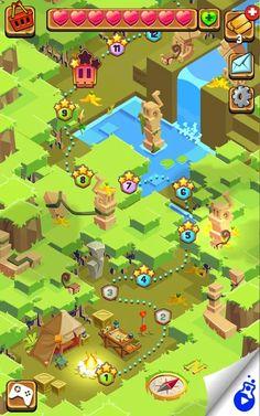 Jungle Cubes– Capture d'écran