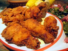 Southern Fried Chicken Recipe by Art Smith Sometimes you just need say what the heck and indulge in some sinfully rich food. Turkey Dishes, Turkey Recipes, Gallus Gallus Domesticus, Fried Chicken Recipes, Crispy Chicken, Southern Recipes, Southern Food, Southern Chicken, Southern Comfort
