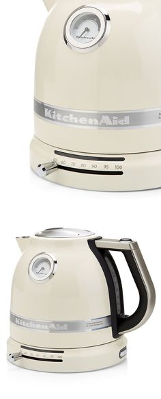 KitchenAid Kettle // it has a variable temperature control, so you can get the perfect brew for coffee, green tea etc.! Genius!