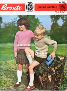 Vintage Kids Clothes, Kids Clothes Boys, Vintage Girls, Vintage Children, Vintage Outfits, Vintage Clothing, Sweater Knitting Patterns, Knit Patterns, Sewing Patterns