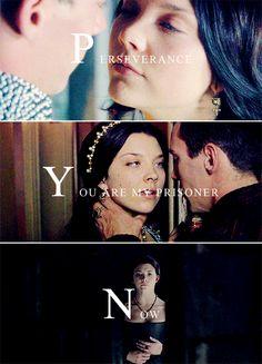 Anne Boleyn + Henry VIII #tudors