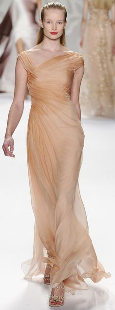 Monique Lhuillier~ Ready To Wear Spring 2014