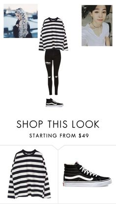 """""""Untitled #177"""" by weirdo-321 ❤ liked on Polyvore featuring Vans"""