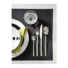 IKEA - FRIKADELL, Bestick 24 delar, Tål maskindisk.Gjord av rostfritt stål som är tåligt och enkelt att rengöra.