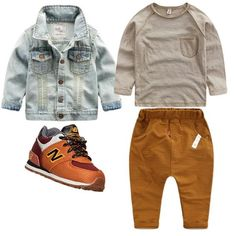 Baby boy swag outfits sons shirts 66 Ideas for 2019 Baby Outfits, Outfits Niños, Little Boy Outfits, Toddler Boy Outfits, Baby Kids Clothes, Toddler Boys, Kids Boys, Toddler Boy Style, Toddler Chores