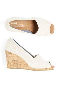 Stitch Fix Spring Shoes: Peep-Toe Wedges