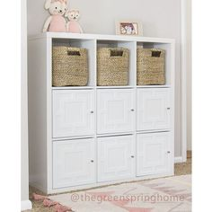 Transform your Ikea kallax shelves with our overlays Ikea furniture hacks. My O'verlays decorative panels come in a variety of patterns and sizes to fit your home design idea! Diy Furniture Easy, Ikea Furniture, Furniture Makeover, Playroom Storage, Kids Storage, Ikea Playroom, Storage Ideas, Ikea Kallax Hack, Decorative Panels