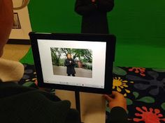 Inquiry over iPads: Green Screen on the iPad
