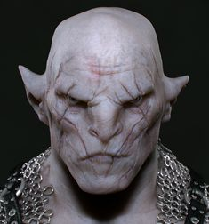 skeletons-rusty-tool: givemeunicorns: forever-freestar: There is something strangely sexy about this Orc, Azog. I can't figure it out, but it's there. Strange to think so … but oh well. probably because, under all that, is this guy dwarfsmut Yooooo have some more Azog!