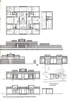 DOC85/10431 - Aldo van Eyck's house in Baambrugge (Nederland)   Flickr - Photo Sharing!