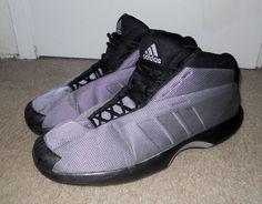 Adidas Crazy 1 Playoff Kobe black silver metallic G99416 sz 15 #adidas #BasketballShoes