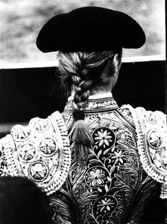 Bull fighting is cruel but I admire a woman who takes it on.