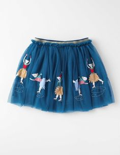 Ballerina Tulle Skirt Baltic Mice Girls Boden