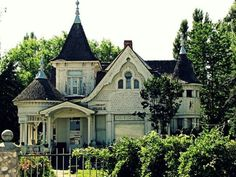 Victorian Gothic abandoned home