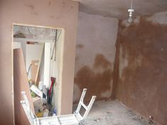 Plastered and skimmed walls through out bedroom and wet floor shower.