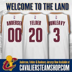"Cavaliers Team Shop on Twitter: ""Welcome to #TheLand! Get your @Cavs @2KayZero…"