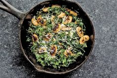 An easy, five-ingredient dinner made with kale, garlic and butter beans.