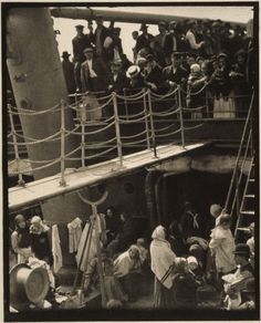 The steerage by Alfred Stieglitz. - used this for project in Humanities class!