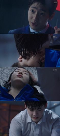 """[Spoiler] """"While You Were Sleeping - Lee Sang-yeob kills Lee Eun-woo Lee Eun Woo, Lee Sung, Lee Jong Suk, K Drama, Drama Fever, 7 First Kisses, Best Kdrama, Doctor Stranger, While You Were Sleeping"""