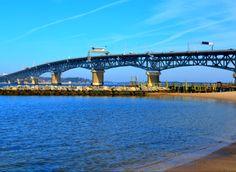 Bridge from Gloucester to Yorktown VA