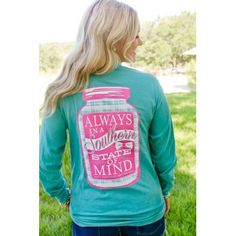 JADELYNN BROOKE-Always In A Southern State Of Mind - NEW!  Long sleeve for fall!  $38