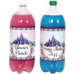Love the pink and blue drink
