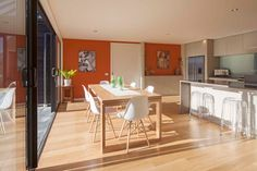 Tewa open plan dining and kitchen...