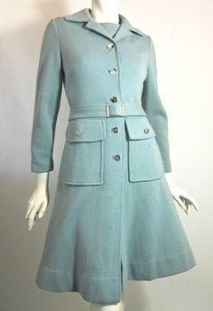 60s dress vintage coat