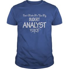 Budget Analyst Voice T-Shirts, Hoodies. CHECK PRICE ==► https://www.sunfrog.com/Jobs/Budget-Analyst-Voice-Shirts-Royal-Blue-Guys.html?41382
