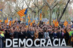 NYT Opinion Page Jan 30: The Spanish government is violating democratic principle by using the judiciary to try to stop our Parliament debating independence.