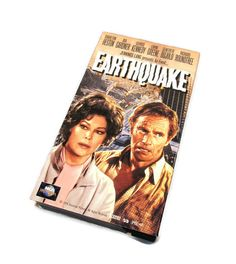 Free Shipping! VHS 55034 Movie Earthquake Charlton Heston Ava Gardner 1974 Universal Pictures by VintageEtcEtc on Etsy