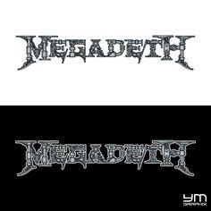 "Megadeth ""Robotic"" Logo"