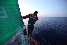 Thomas Coville / Leg 6 - Day 16 / Groupama in the Volvo Ocean Race / Credit : Yann Riou