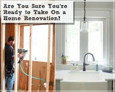 Are You Sure You're Ready to Take on a Home Renovation? - Pretty Handy Girl   Questions to ask yourself before you take on a big home remodeling project. Plus, how to find a good contractor, materials and more! #spon #allstate