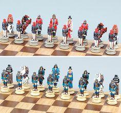 Fame 5905 Samurai Warrior Chess Set Pieces