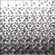 RYSZARD WINIARSKI (1936 - 2006)  PRZYPADEK W GRZE 7 X 7 DLA DWÓCH, 1999   akryl, płótno / 50 x 50 cm