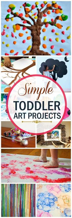 The toddler years are also the perfect time to learn new things. Your child is like a sponge right now. She will soak in all you can teach her.here are the top 10 creative art projects for toddlers.