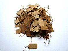 Etiketten - Preisschilder Etiketten 100 Stück Tags - ein Designerstück von Frau_Zwerg bei DaWanda