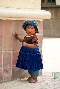 Bolivian girl. Cochabamba, Bolivia