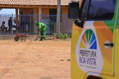 Prefeitura de Boa Vista inicia serviços de limpeza em comunidades indígenas #pmbv #prefeituraboavista #boavista #roraima #obras #limpeza