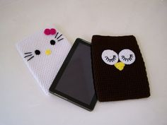 Crochet ipad Case  Crochet Tablet Case by craftswithlove4U on Etsy, $34.00