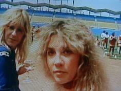 stevie and christine....rare photo