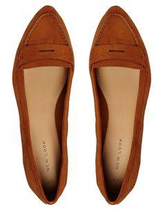 Enlarge New Look Loint Mocassin Flat Shoes